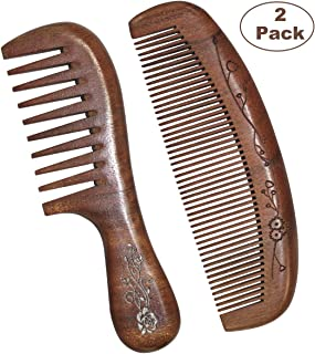 red sandalwood comb