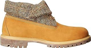 TimberlandRoll Top Fabric - Tissu - Partie supérieure à enrouler Homme , marron (Wheat Nubuck Harris Tweed), 39.5 EU