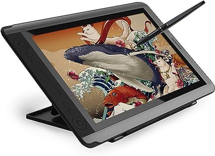 Huion Kamvas GT-156HD V2 Dibujo Monitor Pen Display 15.6 Pulgadas 8192 Presión del lápiz con 14 Teclas expresas - Versión Mejorada