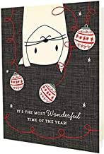 product image for Night Owl Paper Goods Crazy Kitty Holiday Cards (10 Pack)