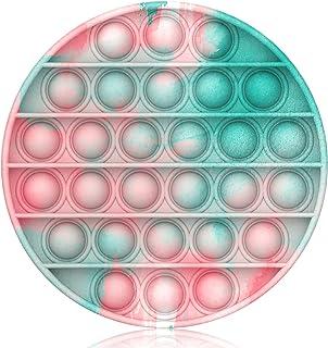 Bdwing Push and Pop Bubble Sensory Fidget Toy Arc-en-Ciel Sensorielle Fidget Jouet Coloré pour Autisme Besoins spéciaux An...