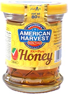 American Harvest Pure & Natural Honey Small Cup, 80 gm
