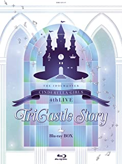 【Amazon.co.jp限定】THE IDOLM@STER CINDERELLA GIRLS 4thLIVE TriCastle Story(初回限定生産)(LPサイズ ディスク収納ケース付) [Blu-ray]