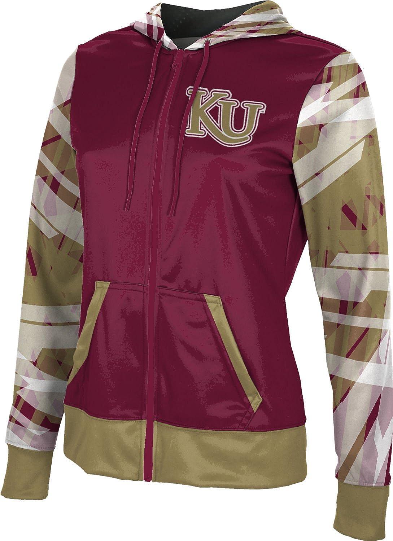ProSphere Kutztown University Girls' Zipper Hoodie, School Spirit Sweatshirt (Crisscross)