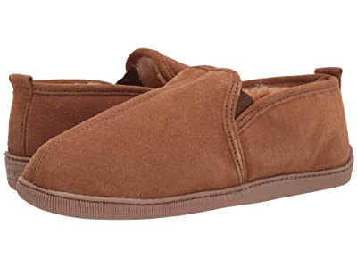 Minnetonka Twin Gore Sheepskin (Golden Tan) Men