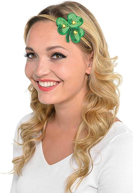widmann 07060/?/St Patricks Day Hair Band with Minizyli Sleeveless /& Bow Tie Set Green