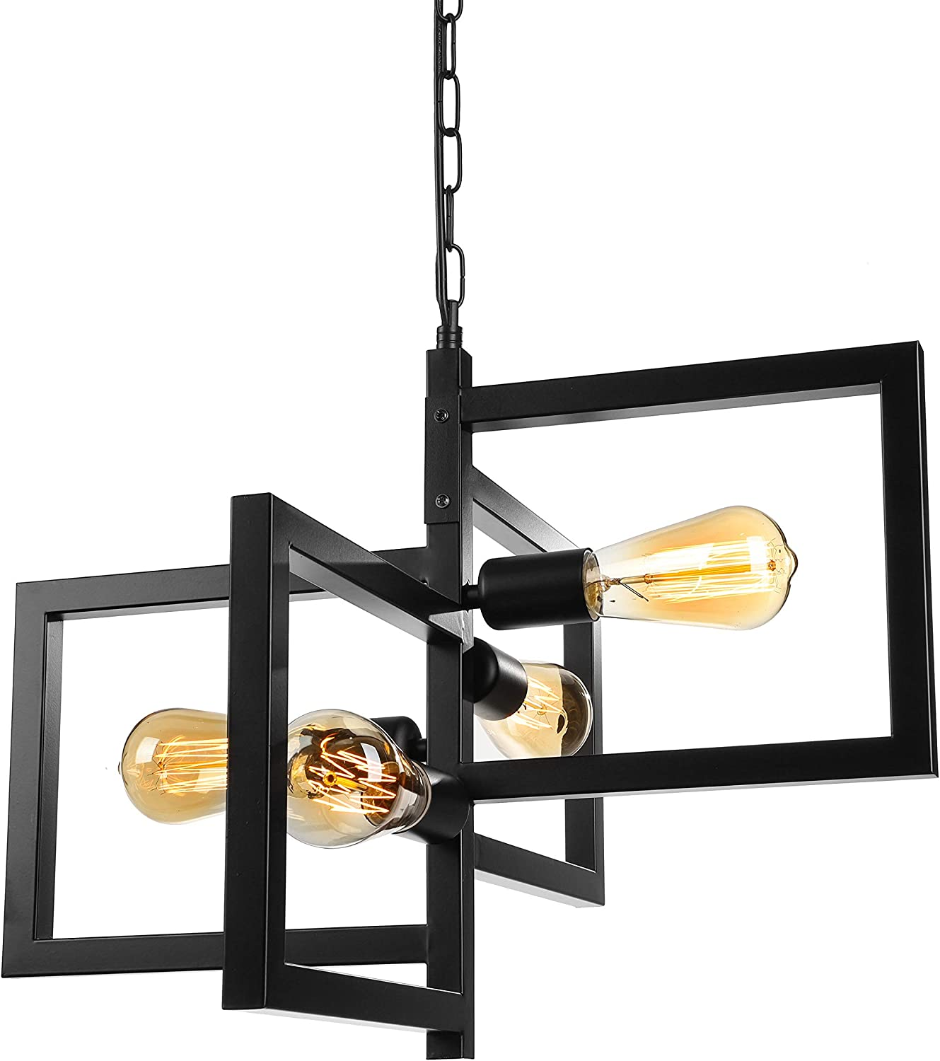 BAYCHEER NEW before selling ☆ Industrial Retro Style Multi-Light Indoor Pendant Light Genuine Free Shipping