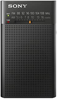 Sony ICFP26.CE7 Portable AM/FM Radio - Black