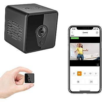 超小型カメラ 隠しカメラ Wifi 長時間録画 Colohas 監視カメラ 防犯カメラ HD1080P超高画質 バイクに取り付け可能 動体検知 内蔵バッテリー スパイカメラ 最大128G対応 Wifi対応 赤外線暗視 広角140° ワイヤレス 遠隔操作 日本語取扱説明書付
