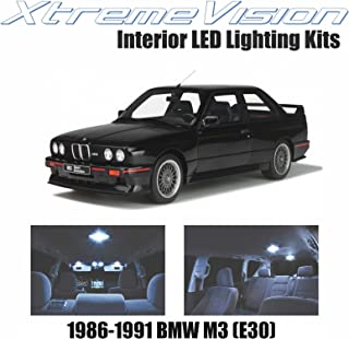 XtremeVision Interior LED for BMW M3 (E30) 1986-1991 (4 Pieces) Cool White Interior LED Kit + Installation Tool