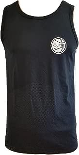 Dry Elite Men's Sleeveless Black Tank Top Size M