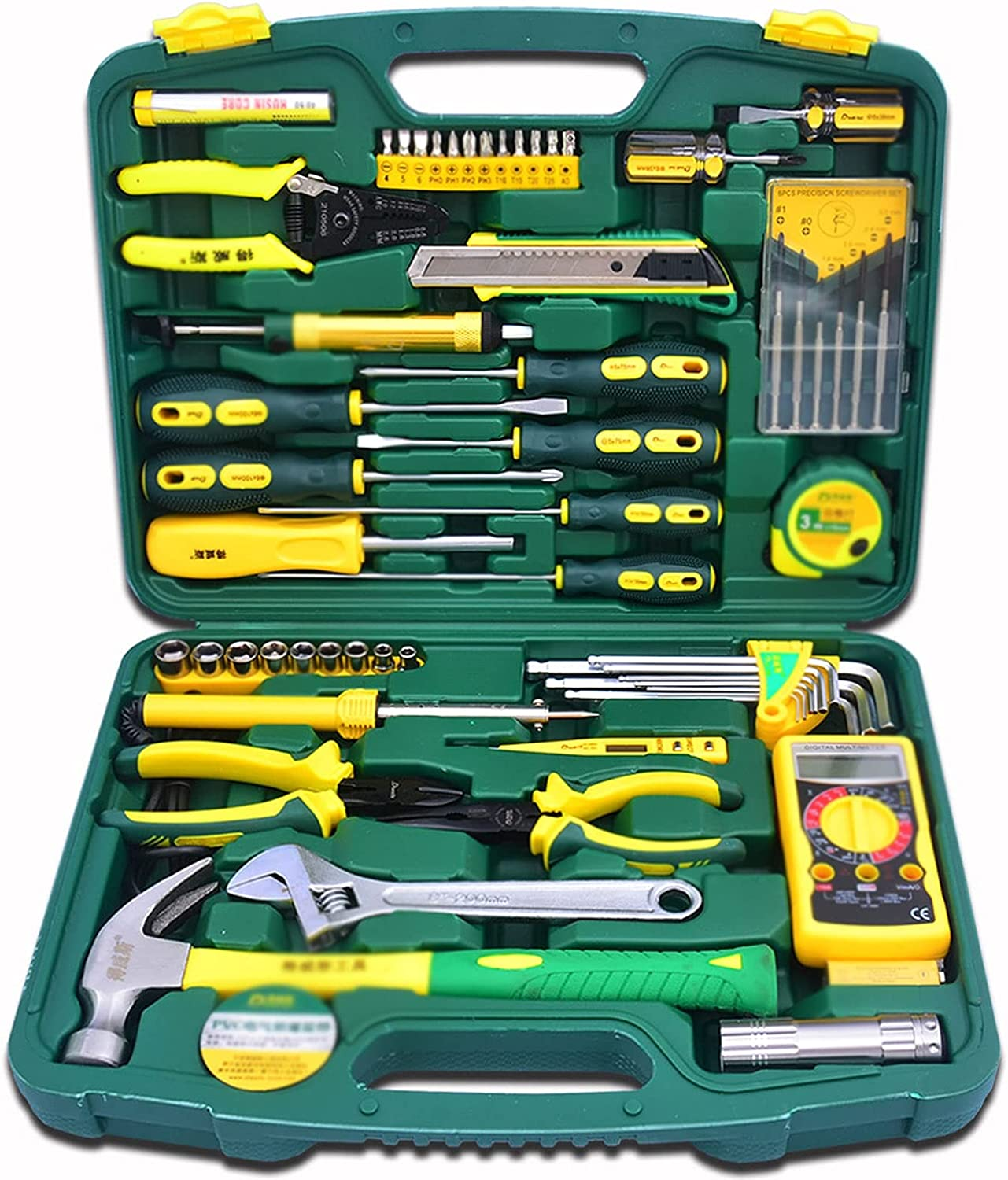 OMTONGXIN Tool Bag 58-Piece Electrician Tool Set Household Telec