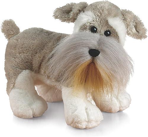 Webkinz Schnauzer Hund Plüschtier, mit Versiegeltem Code zum Adoptieren (grau)