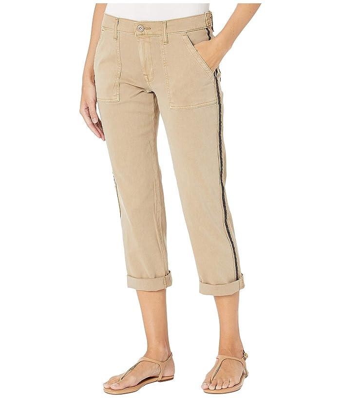Lucky Brand  Boyfriend Utility Pants (Dusty Khaki) Womens Casual Pants
