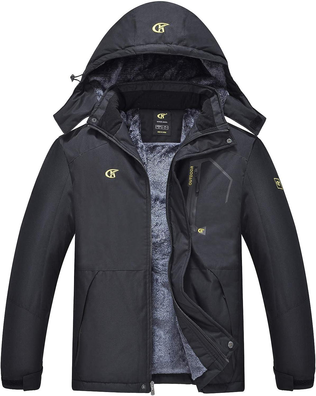 QPNGRP Mens Waterproof Ski Snowboard New Free Shipping Jacket Max 65% OFF Winter Mou Windproof