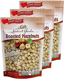 Nature's Garden Roasted Hazelnuts - 26 Oz. (Pack of 3)