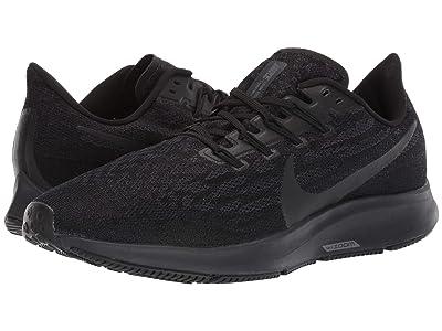 Nike Air Zoom Pegasus 36 (Black/Black/Oil Grey/Thunder Grey) Men