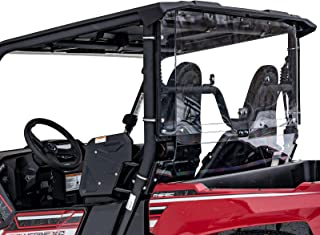 SuperATV Lightly Tinted Polycarbonate Rear Windshield for Yamaha Wolverine X2 (2019+) - Easy to Install!