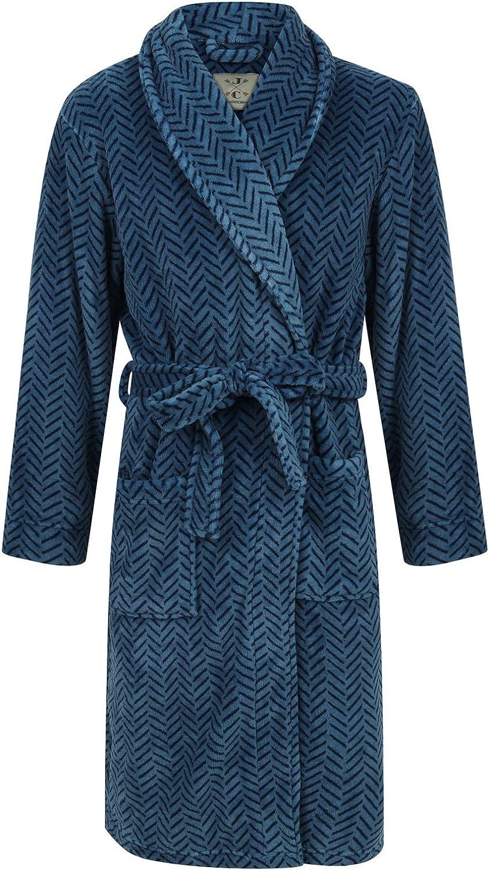 Men's 日本未発売 Blue 日本限定 Herringbone Robe Fleece