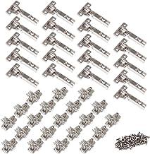 4x Bisagras de cazoleta acodadas apertura 110/° para puerta de muebles C41038 AERZETIX