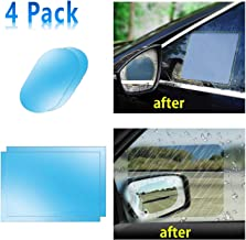Car Side View Mirror Anti-Glare Film- Rear View Mirror HD Nano Anti Glare Anti Fog Rainproof Waterproof Membrane for Automobile Rearview Mirror and Side Window (Rec 5.9