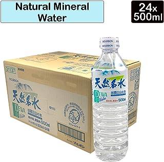 Bourbon Dewa Sanzan No Mizu Mineral Water Case, 12 l, 24x500ml