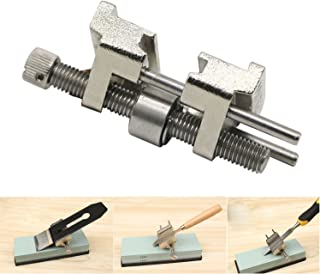 LepoHome Stainless Steel Honing Guide with Roller for Wood Chisel Fixed Angle Knife Sharpener Planer Blade Sharpening(Clamping Width Range 0.2''-3.2'')