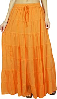 c56279f0b6 Phagun Skirt Long Maxi Skirt Beach Wear Cotton Summer Wear Clothing