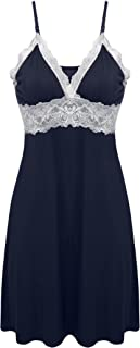 Image of Best Seller: Classic Lace Trimmed Chemise for Women - Over 15 Colors Available