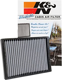 K&N VF1012 Washable & Reusable Cabin Air Filter Cleans and Freshens Incoming Air for your Enclave, Traverse, Acadia, Outlook