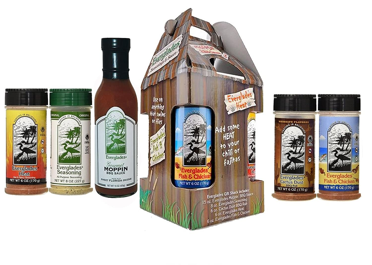 specialty shop Everglades Seasoning Spice In a popularity Shack 4 Bundl Spices and Sauce Moppin
