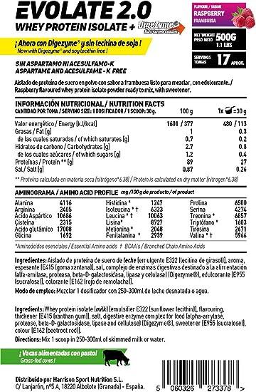 Aislado de Proteína de Suero de HSN Evolate 2.0 | Whey ...