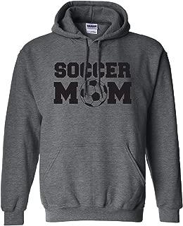 Soccer Mom Adult Hooded Sweatshirt in 9 Colors