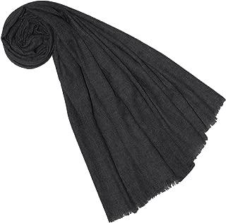 Lorenzo Cana Luxus Damen Schal aus flauschiger Yak Wolle aus Nepal Schaltuch 100% Yakwolle Pashmina Uni Yakwolleschal Stola Naturfaser