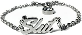 His and Hers Intimates Stainless Steel Anklet Jewelry - Hotwife, Queen, Hot Wife, Bracelet, Necklace, Queen of Spades, BBC, QOS, MFM, Swinger, Cuckold, Threesome