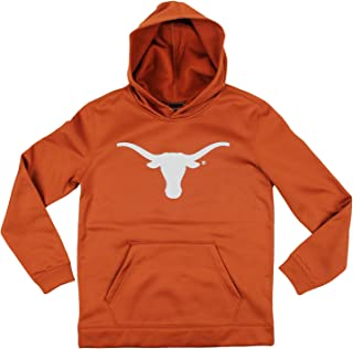 Outerstuff Texas Longhorns NCAA Youth Boys Perforated Pullover Hoodie - Burnt Orange