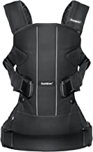 BABYBJORN Baby Carrier One - Black, Cotton