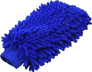 1PCS Car Wash Mitt Chenille Microfiber Premium Scratch-Free Car Wash Glove Sponge