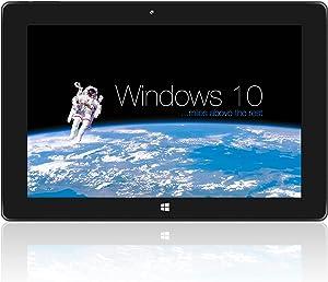 Windows Tablet, SZTPSLS Windows Home 10, Intel Quad-Core Atom x5-Z8350, 4GB RAM 64GB ROM, 5MP and 2MP Cameras,Wi-Fi, Bluetooth 4.2, 10inch