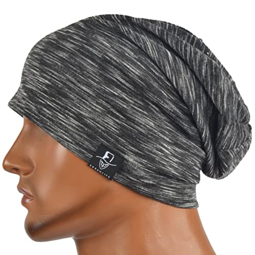 e27d8b90fe623 JESSE · RENA Chic Striped Thin Baggy Slouch Summer Beanie Skull Cap Hat
