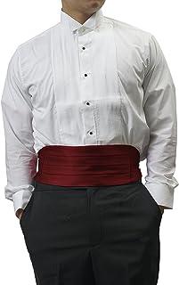 Men's Formal Burgundy Cummerbund for a Tuxedo