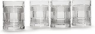 Lauren by Ralph Lauren Glen Plaid Double Old Fashioned Glasses (Set of 4)