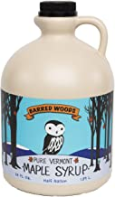Vermont Maple Syrup Grade A Dark Robust (Former Grade B) - 1/2 Gallon 64 oz - Barred Woods Maple