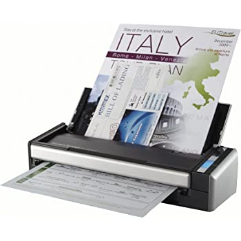 Fujitsu ScanSnap S1300i Portable Color Duplex Document Scanner for Mac and PC (Renewed)