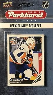 New York Islanders 2018 2019 Upper Deck PARKHURST Series Factory Sealed Team Set including Mathew Barzal, Josh Bailey and Johnny Boychuk Plus 7 Others