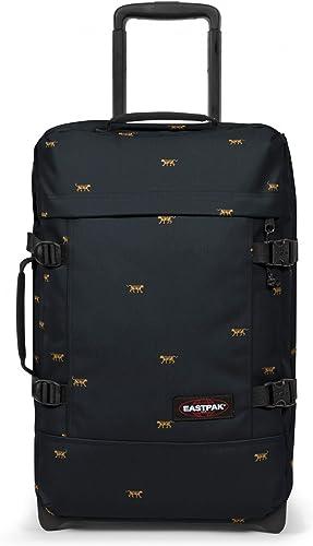 Eastpak Tranverz S Valise, 51 cm, 42 L, Mini Tiger (Noir)