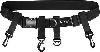 SAMSFX Adjustable Fishing Wader Belt Wading Belts for Surf Casting Kayak Fishing Accessories Waders Straps