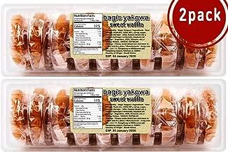 bagis Yakgwa I 600g 2pack I Premium 2019 New Korean Traditional Snack Sweet Waffle Honey Cookies gwajul yak gwa crackers asian best Dessert food groceries birthday and holiday ultimate gift