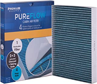PureFlow Cabin Air Filter PC6176X| Fits 2011-20 Dodge Charger, 2010-20 Challenger, 2011-20 Chrysler 300