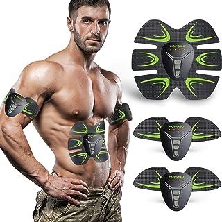 comprar comparacion HOPOSO Electroestimulador Muscular Abdominales, Estimulación Muscular Masajeador Eléctrico Cinturón Abdomen/Brazo/Piernas/...